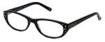 Cinzia Designer Eyeglasses CBR2 C1 in Black 52mm :: Progressive