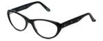 Cinzia Designer Eyeglasses CBR06 in Black 53mm :: Progressive