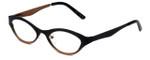 Cinzia Designer Eyeglasses Jitterbug C1 in Black Bronze 46mm :: Progressive
