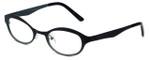 Cinzia Designer Eyeglasses Splendid C1 in Black Sage 46mm :: Progressive