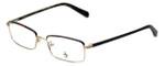 Original Penguin Designer Eyeglasses The Granger in Gold 53mm :: Progressive