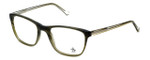 Original Penguin Designer Reading Glasses The Anderson in Olive 52mm