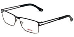 Carrera Designer Eyeglasses CA7580-832 in Black Gunmetal 55mm :: Rx Bi-Focal