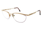 Cazal Designer Eyeglasses Cazal 425-973 in Gold 51mm :: Rx Single Vision