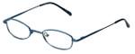FlexPlus Collection Designer Reading Glasses Model 105 in Blue 45mm