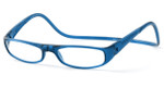 Clic Magnetic Eyewear Regular Fit Euro Style in Blue :: Custom Left & Right Lens