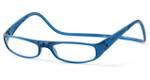 Clic Magnetic Eyewear Regular Fit Euro Style in Blue :: Custom Left & Right Lens