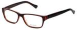 Vera Wang Designer Reading Glasses V069 in Burgundy-Horn 52mm