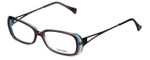 Vera Wang Designer Reading Glasses V175 in Currant 52mm