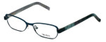 Vera Wang Designer Reading Glasses V301 in Teal 48mm