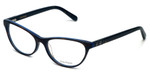 Vera Wang Designer Reading Glasses V360 in Blue-Tortoise 53mm