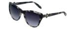 Vera Wang Designer Sunglasses Panna in Grey Tortoise Frame & Grey Gradient Lens 54mm