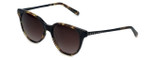 Vera Wang Designer Sunglasses Serova in Tortoise Frame & Brown Gradient Lens 53mm