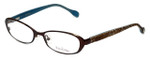 Lilly Pulitzer Designer Eyeglasses Callahan in Brown 50mm :: Custom Left & Right Lens
