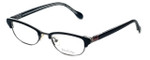 Lilly Pulitzer Designer Eyeglasses Franco in Black 49mm :: Custom Left & Right Lens