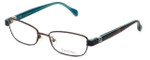 Lilly Pulitzer Designer Eyeglasses Collins in Brown 50mm :: Rx Single Vision