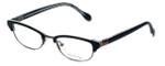 Lilly Pulitzer Designer Eyeglasses Franco in Black 49mm :: Rx Single Vision