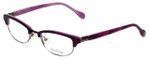 Lilly Pulitzer Designer Eyeglasses Franco in Plum 49mm :: Rx Single Vision
