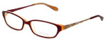 Lilly Pulitzer Designer Eyeglasses Kelton in Raspberry 53mm :: Rx Single Vision