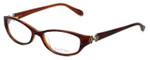 Lilly Pulitzer Designer Eyeglasses Kolby in Havana-Tortoise 51mm :: Rx Single Vision