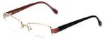 Lilly Pulitzer Designer Eyeglasses Eve in Gold 51mm :: Rx Bi-Focal