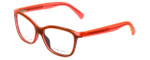 Marc Jacobs Designer Eyeglasses MMJ614-0MGP in Black-Orange 54mm :: Custom Left & Right Lens