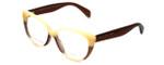 Marc Jacobs Designer Eyeglasses MMJ629-AR0 in Orange-Brown 53mm :: Progressive