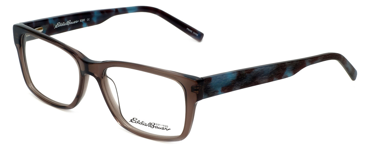2c98fee173 Eddie-Bauer Designer Eyeglasses EB8390 in Smoke-Blue 54mm    Custom ...