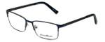 Eddie-Bauer Designer Eyeglasses EB8604 in Navy-Gunmetal 54mm :: Custom Left & Right Lens
