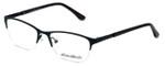 Eddie-Bauer Designer Reading Glasses EB8602 in Satin-Black-Burgundy 51mm