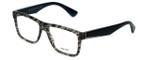 Prada Designer Eyeglasses VPR07S-UBD1O1-54mm in Grey-Tortoise 54mm :: Custom Left & Right Lens