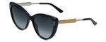 Gucci Designer Sunglasses GG3804-CSA9O in Black-Palladium 57mm