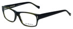Lucky Brand Designer Eyeglasses Cliff in Olive-Horn 54mm :: Custom Left & Right Lens