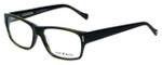 Lucky Brand Designer Eyeglasses Cliff in Olive-Horn 54mm :: Progressive