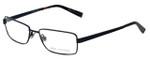 John Varvatos Designer Eyeglasses V134 in Black 54mm :: Custom Left & Right Lens