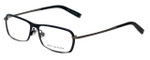 John Varvatos Designer Eyeglasses V136 in Black 55mm :: Custom Left & Right Lens