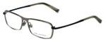 John Varvatos Designer Eyeglasses V136 in Gunmetal 55mm :: Custom Left & Right Lens