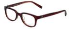 John Varvatos Designer Eyeglasses V343AF in Chianti 47mm :: Custom Left & Right Lens