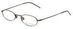 John Varvatos Designer Eyeglasses V127 in Gold 48mm :: Rx Single Vision