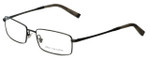 John Varvatos Designer Eyeglasses V130 in Antique-Pewter 54mm :: Rx Single Vision