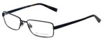 John Varvatos Designer Eyeglasses V134 in Black 54mm :: Rx Single Vision