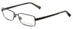 John Varvatos Designer Eyeglasses V134 in Gunmetal 54mm :: Rx Single Vision