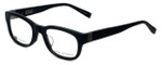 John Varvatos Designer Eyeglasses V337AF in Black 50mm :: Rx Single Vision