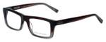 John Varvatos Designer Eyeglasses V346 in Mahogany 52mm :: Rx Single Vision