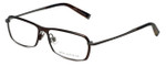 John Varvatos Designer Eyeglasses V136 in Brown 55mm :: Progressive