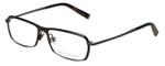 John Varvatos Designer Eyeglasses V136 in Brown 55mm :: Progressive
