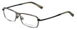 John Varvatos Designer Eyeglasses V136 in Gunmetal 55mm :: Rx Bi-Focal