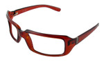 Bolle Designer Eyeglasses Envy in Crystal  Cognac :: Custom Left & Right Lens