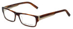 John Varvatos Designer Reading Glasses V332 in Amber-Tortoise 56mm