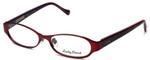 Lucky Brand Designer Eyeglasses Mckenzie in Matte Red 52mm :: Progressive